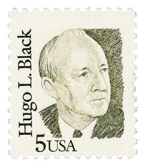 1986 5c Great Americans: Hugo L. Black