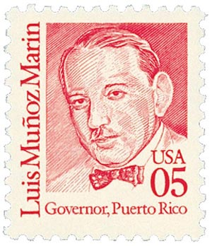 1990 5c Great Americans: Luis Munoz Marin
