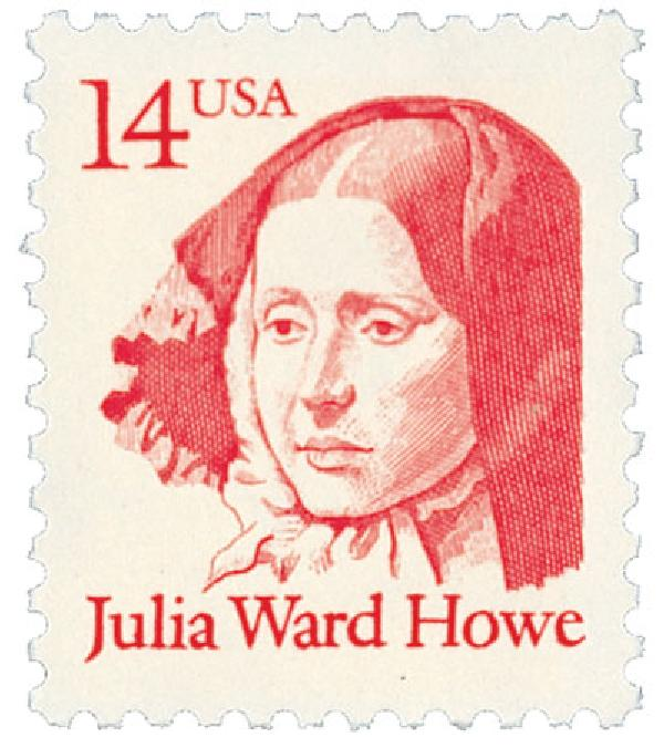 1987 14c Great Americans: Julia Ward Howe