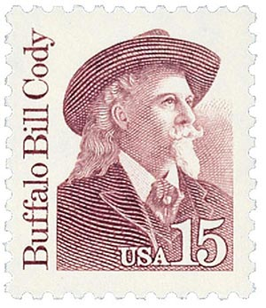 Buffalo Bill Cody stamp