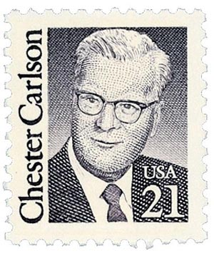 1988 21c Great Americans: Chester Carlson