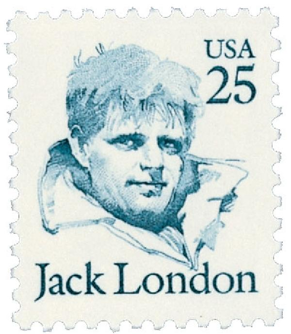 1986 25c Great Americans: Jack London