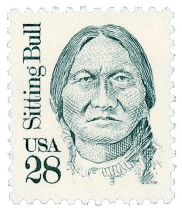 1989 28c Great Americans: Sitting Bull
