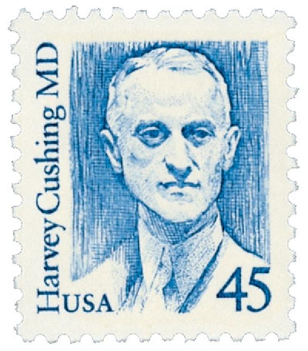 1988 45c Great Americans: Harvey Cushing, M.D.