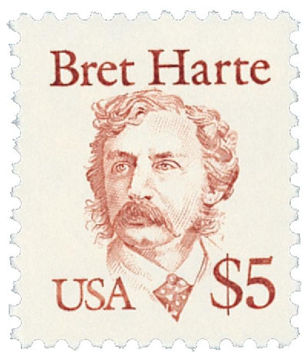 1987 $5 Great Americans: Bret Harte