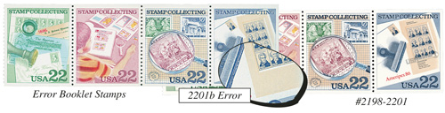 Stamp Collecting Error and Normal