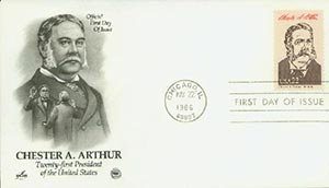 U.S. #2218c – 1986 Arthur First Day Cover.