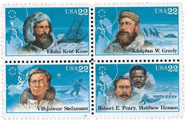 1986 22c Arctic Explorers