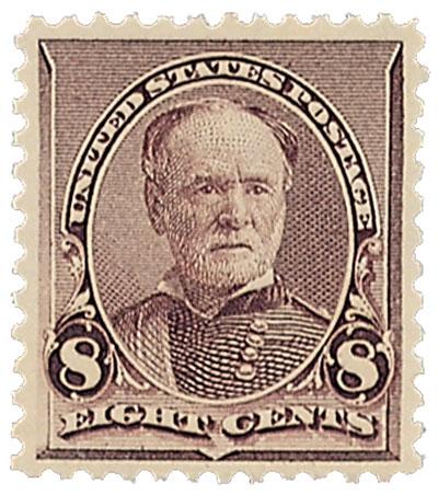 1893 8c Sherman, lilac