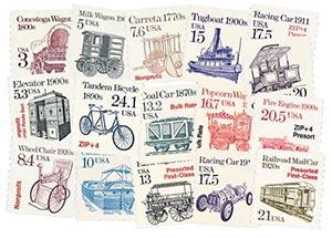 1987-88 Transortation Series, set of 16