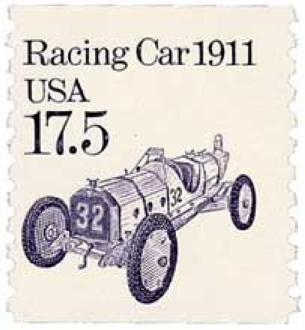 1987 17.5c Transportation Series: Race Car, 1911