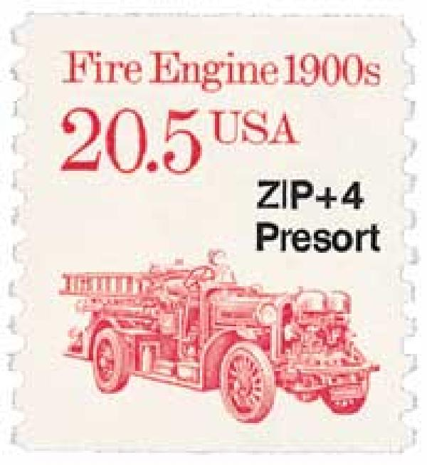 1988 20.5c Transportation Series: Fire Engine, 1900s