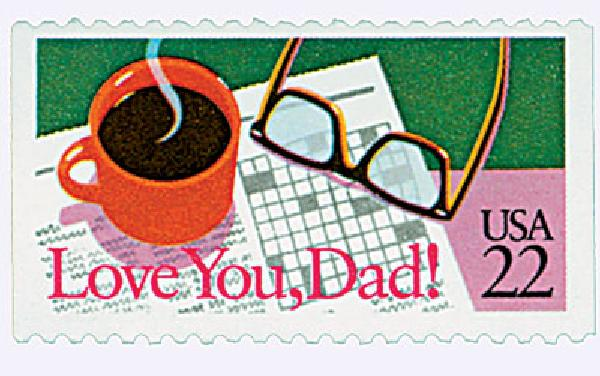 1987 22c Special Occasions: Love You, Dad!