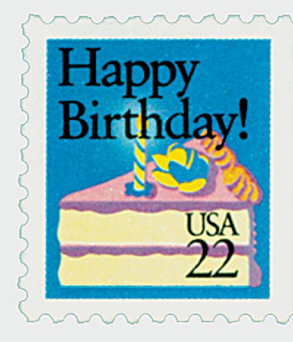1987 22c Special Occasions: Happy Birthday!