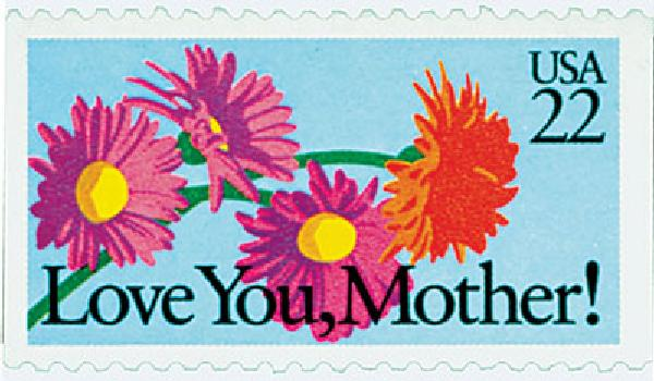 1987 22c Special Occasions: Love you, Mother!