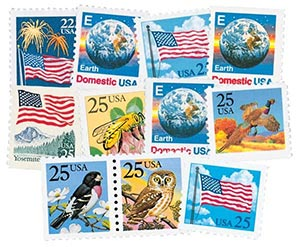 1987-88 Regular Issues, set of 11 stamps