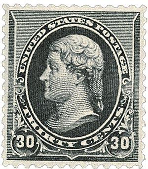 1890 30c Jefferson, black