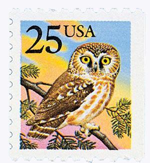 1988 25c Owl