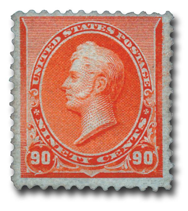 1890 90c Perry, orange