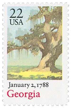 1988 22c Georgia