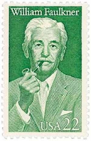1987 22c Literary Arts: William Faulkner