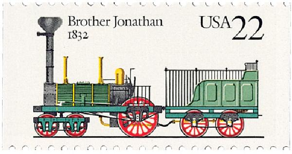 1987 22c Steam Locomotives: Brother Jonathon