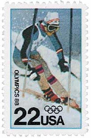 1988 22c Winter Olympics, Calgary, Canad