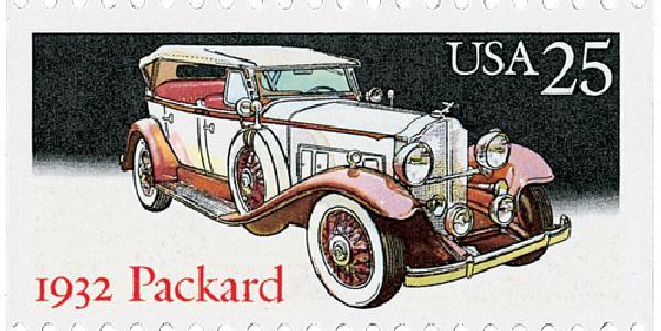 1988 25c Classic Cars: 1932 Packard