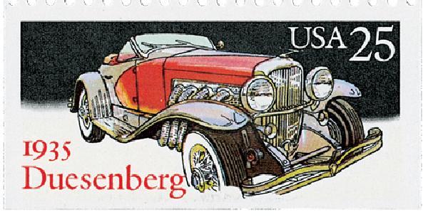 1988 25c Classic Cars: 1935 Duesenberg