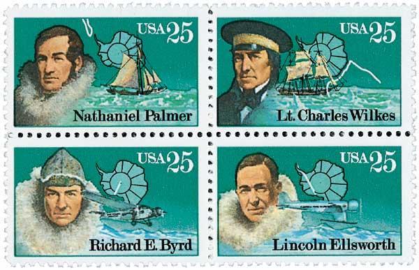 1988 25c Antarctic Explorers