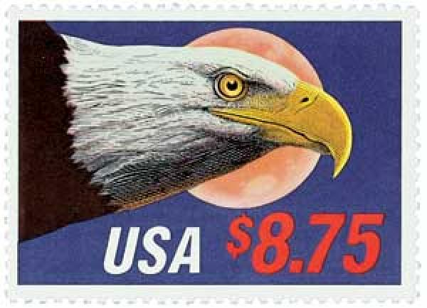 1988 $8.75 Eagle and Moon, Express Mail