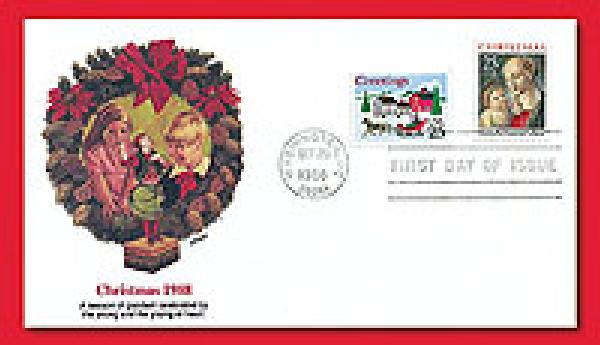 1988 25c Christmas