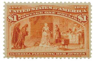 1893 $1 Isabella Pledging Jewels