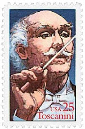 1989 25c Performing Arts: Arturo Toscanini