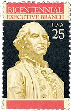 1989 25c Constitution Bicentennial: Executive Branch