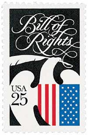 1989 25c Constitution Bicentennial