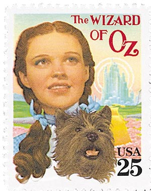 1990 25c Classic Films: Wizard of Oz