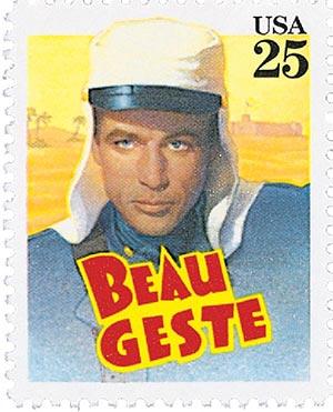 1990 25c Classic Films: Beau Geste