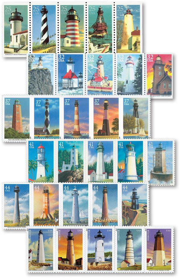 Complete Set - 1990-2013 Lighthouses