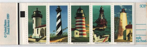 1990 25c Lighthouses, white ('USA 25') omitted