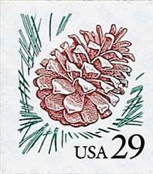 1993 29c Pinecone