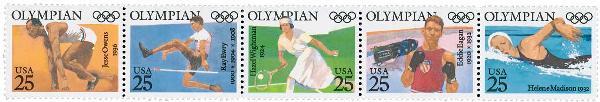 1990 25c Olympians