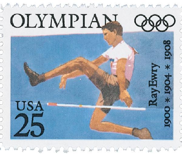 1990 25c Ray Ewry