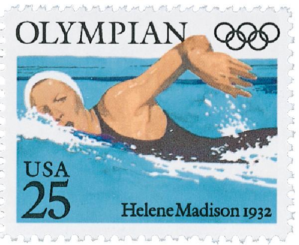 1990 25c Helene Madison