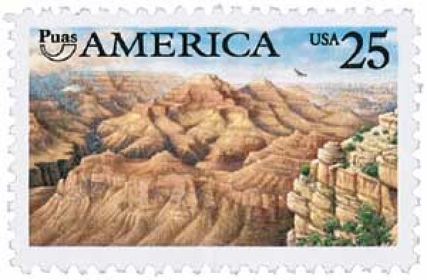1990 25c Grand Canyon