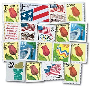 1991-94 Regular Issues, set of 18 stamps