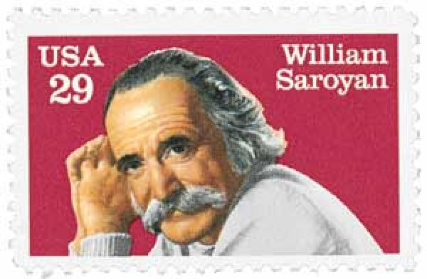 1991 29c Literary Arts: William Saroyan