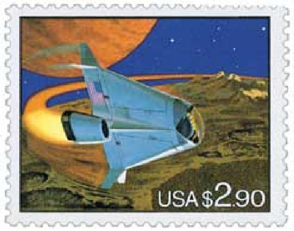 1993 $2.90 Space Shuttle, Priority Mail