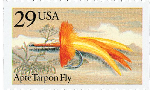 1991 29c Fishing Flies: Apte Tarpon