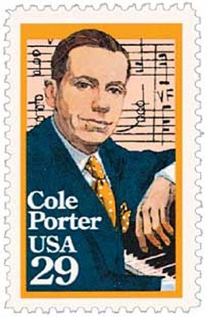 1991 29c Performing Arts: Cole Porter